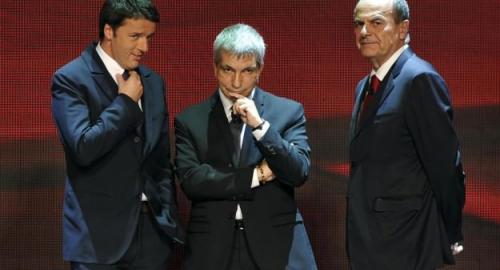 Primarie Pd: Bersani-Renzi è bagarre! Vendola ago della bilancia